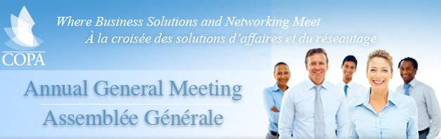 COPA Annual General Meeting is just days away!