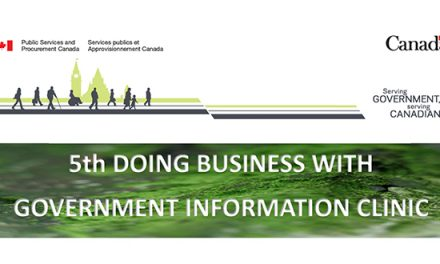 A Premium Event – 5th Doing Business with Government Information Clinic – March 3, 2020