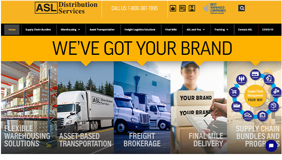 Welcome to ASL Distribution Services Ltd